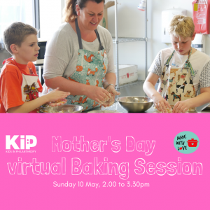 Made with love virtual baking session