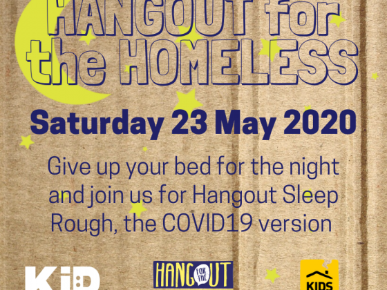 Hangout for the Homeless event promo image