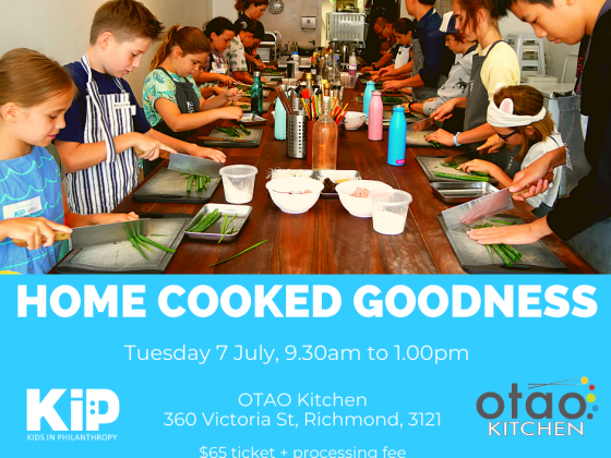 Home Cooked Goodness Session 7th July 2020